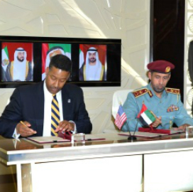 DHS UAE signing