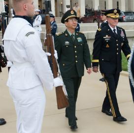 Gen. Fang Fenghui and Gen. Martin Dempsey