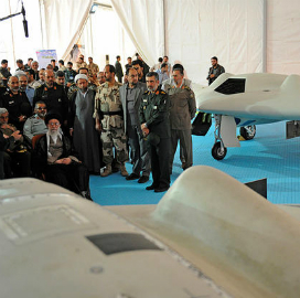 Iran exhibit of replicated drone