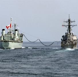 Canada_navy supply ship