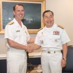 John Richardson & Jung Ho-Sub